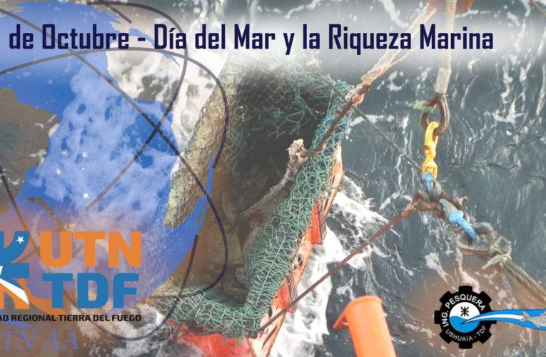 """Día del """"Mar y la Riqueza Marina""""."""